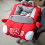 Cama Acolchada En Forma De Carro Para Mascotas