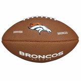 Bola Futebol Americano Denver Broncos Nfl - Wilson