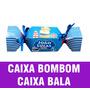 Caixa Bala Bombom Frozen Coroa Ursinho Produção Rápida