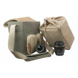 Estuche P/ Camara Reflex Perfect Choice Pc-082149 Capuchino