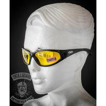 Lentes Motociclista Global Vision Hercules 1 Tinte Amarillo