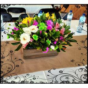 Base De Madera Para Arreglos Florales