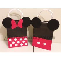 Bolsitas Para Dulces Mickey Mouse Y Minnie