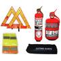 Kit Reglamentario Seguridad Para El Auto 4 En 1 Oferta