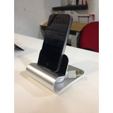 Carregador Dock Station De Alumínio - Iphone, Ipods E Ipad