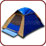 Barraca De Camping Serra 4 Pessoas Wenzel - 100% Impermeável