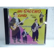 Teixeirinha Um Gaucho Canta Para O Brasil Cd Original Impecá