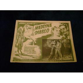 La Madrina Del Diablo Jorge Negrete Cartel Poster 26.10.17