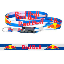 Chaveiro Cordão Com Fecho Red Bull