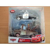 Disney Pixar The Cars Sheriff And Mater Coleccionables