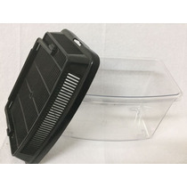 Mascotera De Plastico Mini Panoramica Transparente