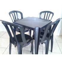 Mesas E Cadeiras De Plástico Goyana-jogo De Mesa Colorido