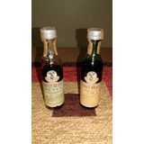 Mini Botella Antiguas Fernet Branca Y Branca Menta De 50 Cm3