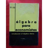 Algebra Para Economistas Luis Galli 1 Parte