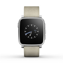 Reloj Int Pebble Time Steel Smartwatch P Apple Android Plata