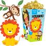 Kit Imprimible Animalitos Selva Nene Candy Bar Golosinas 2x1