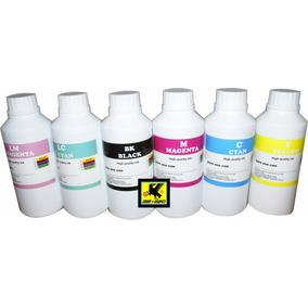 Litro De Tinta Pigmento Para Papel Couche P/impresoras Epson