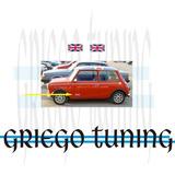 Banderas Inglesas X Ford Escort - Morris Bajo Puerta