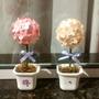 Topiaria - Vasinho De Flor Para Lembrancinha 10 Unidades
