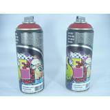 Tinta Spray Vermelho Ferrari Fosco Artes Graffiti 400ml