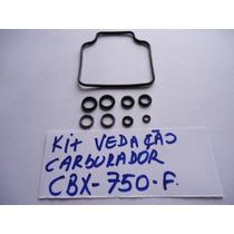 Kit Anel Vedacao Carburador Cbx 750f Indy 9 Peças Com Nota