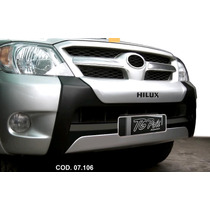 Bumper Hilux Cab. Dupla 05/11 (preto C/ Aluminium)