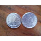 Monedas Antiguas De N$100 Y N$ 500 Uruguayas Del Año 1989