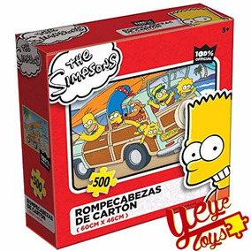 Novelty Rompecabezas The Simpsons, 500 Piezas