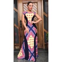 Kit 6 Vestidos Detalhe Estampas Lindas