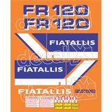 Kit Adesivos Fiatallis Fr 120