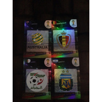 Logos O Escudos De Adrenalyn Brasil 2014, Tengo Casi Todos