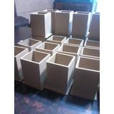 Lapiceros De Fibrofacil 6x6x9 Sin Pintar