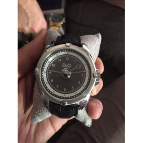 Relógio D&g Original Pulseira De Couro-prova D