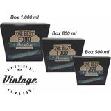 Embalagem Tipo Box Para Comidas Diversas 500 Ml - 1000 Unid