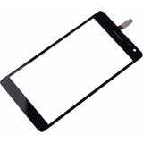 Tela Vidro Touch Screen Microsoft Lumia Nokia N535 Preto