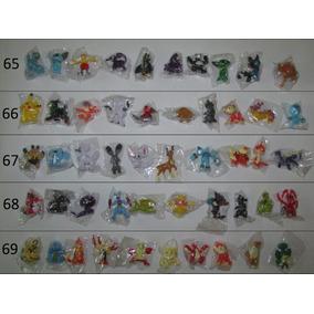 Miniatura Pokémon Grande 3-6 Cm 10 Bonecos. Escolha Um Grupo