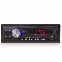 Rádio Mp3 Player Automotivo Usb Sd Mmc Fm Auxiliar Jab