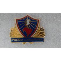 Distintivo De Metal Polícia Comunitária