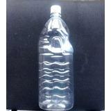 Embalagem Garrafa Pet 2litros C/ Tampa E Lacre - 50 Unidadex