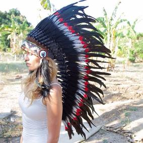 Penacho Indigena Apache Indio Para Adultos Envio Gratis 8