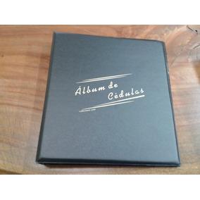 09a- Album Collecione Médio Pvc P/ 30 Cédulas Frete Gratis