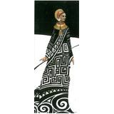Hermosa Lámina De Africana. Nº25.