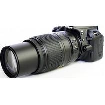 Lente Nova Nikon Af-s 55-300mm Vr Autofoco Mercado Platinum