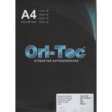 Etiqueta Ori-tec A4 Impresoras Laser Inkjet X100 Ori Tec
