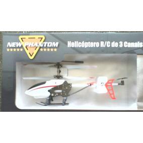 Novo Helicoptero New Phantom H18 Da Candide 3 Canais