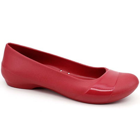Sapatilha Crocs Gianna Flat W Preto Pixolé Calçados