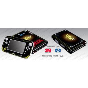Skin Nintendo Wii U Adesivo Zelda