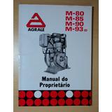 Manual Motor Diesel Agrale M-80, M-85, M-90 M-93