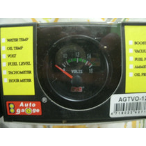 Voltímetro 52mm Auto Gauge