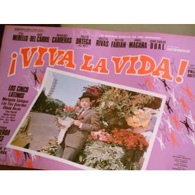 Antiguo Afiche Cine Palito Ortega Viva La Vida 1969 Excel